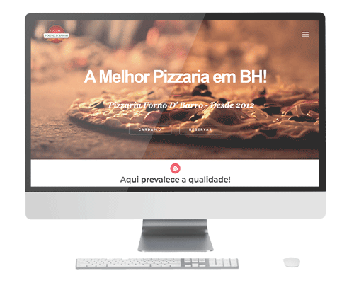 Website Forno D Barro